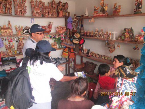 Difusión Beca 18 en Ayacucho